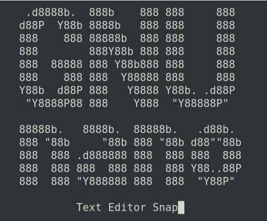 Текстовый редактор Nano